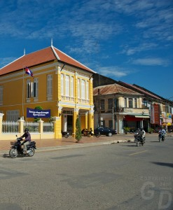 Battambang in Kambodscha